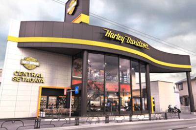 ハーレーダビッドソンセントラル世田谷の店舗写真