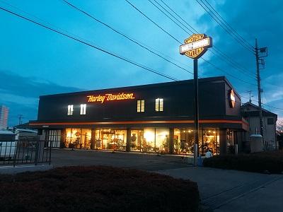 ハーレーダビッドソンセントラル春日部の店舗写真