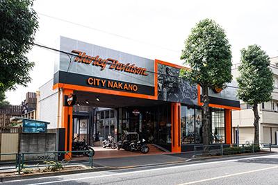 ハーレーダビッドソンシティ/中野店の店舗写真