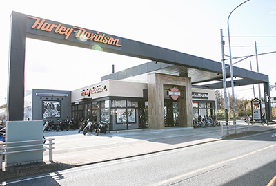 ハーレーダビッドソン相模原の店舗写真
