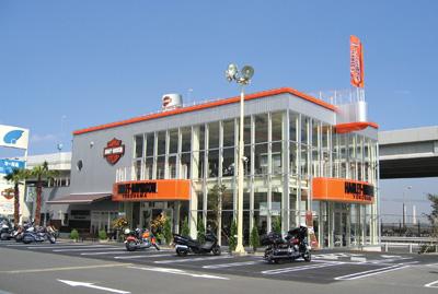 ハーレーダビッドソン横浜の店舗写真