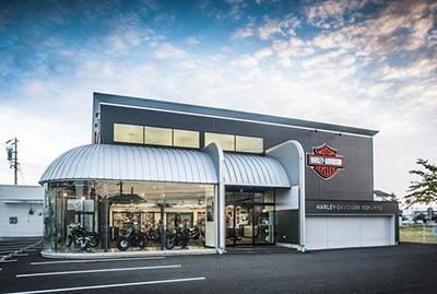 ハーレーダビッドソン国立の店舗写真