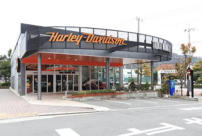 ハーレーダビッドソンタオカ沼津の店舗写真