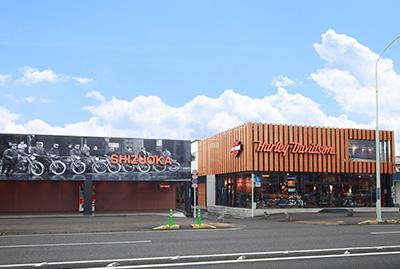 ハーレーダビッドソン静岡の店舗写真