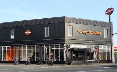ハーレーダビッドソン浜松の店舗写真