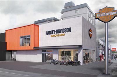 ハーレーダビッドソン中川の店舗写真