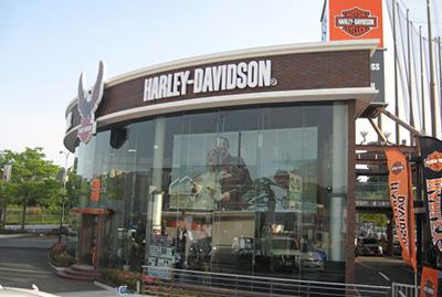 ハーレーダビッドソン ライダーズクロス神戸港島の店舗写真
