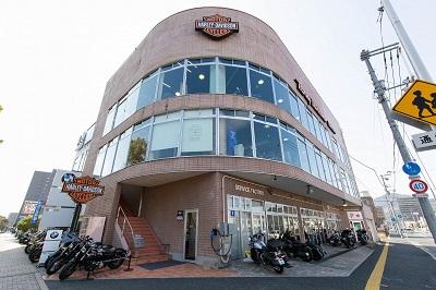 ハーレーダビッドソンバルコム広島の店舗写真