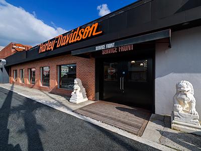 ハーレーダビッドソン沖縄の店舗写真