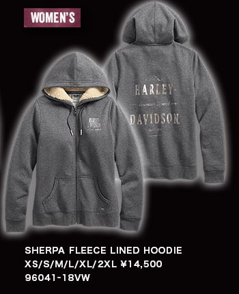 WOMEN'S SHERPA FLEECE LINED HOODIE 96041-18VW
