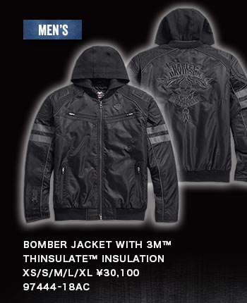 MEN'S BOMBER JACKET WITH 3M™ THINSULATE™ INSULATION 97444-18AC