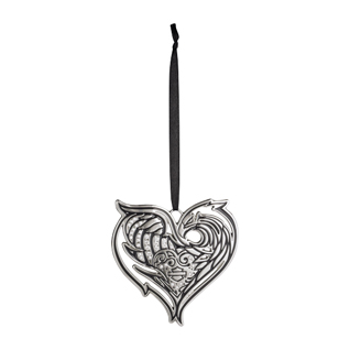 Chrome Heart Ornament