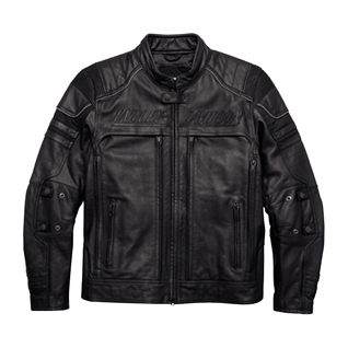 Erving Pocket System Leather Jacket