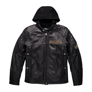 H-D® Triple Vent System™ Upton 3-IN-1 Leather Jacket
