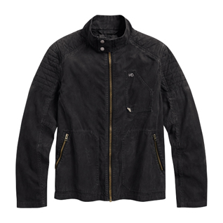 Waxed Casual Jacket