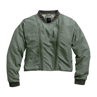 Drop Shoulder Bomber Jacket