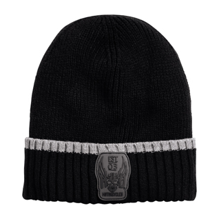 Eagle Cuffed Knit Hat