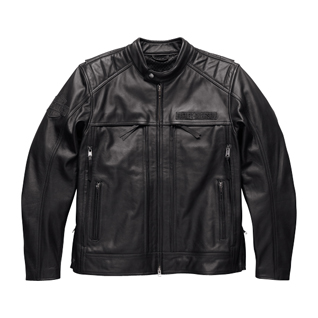 Synthesis Pocket System Leather Jacket