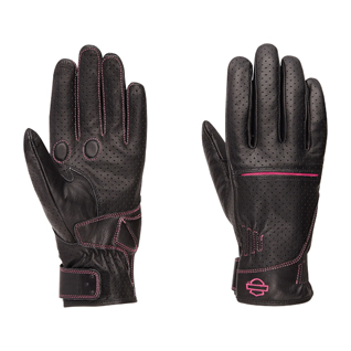 Pink Label Perforated Gloves