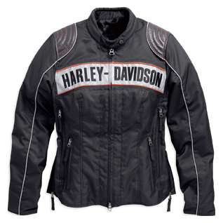 Harley-Davidson Triple Vent SystemTM Waterproof Textile Riding Jacket