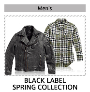 MEN'S BLACK LABEL SPRING COLLECTION